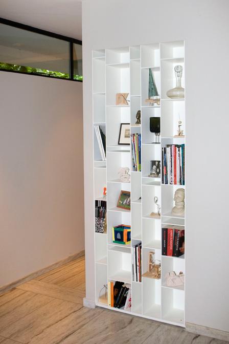 boekenkast, op maat, wit, boeken, verlichting, verlichtingsplan
