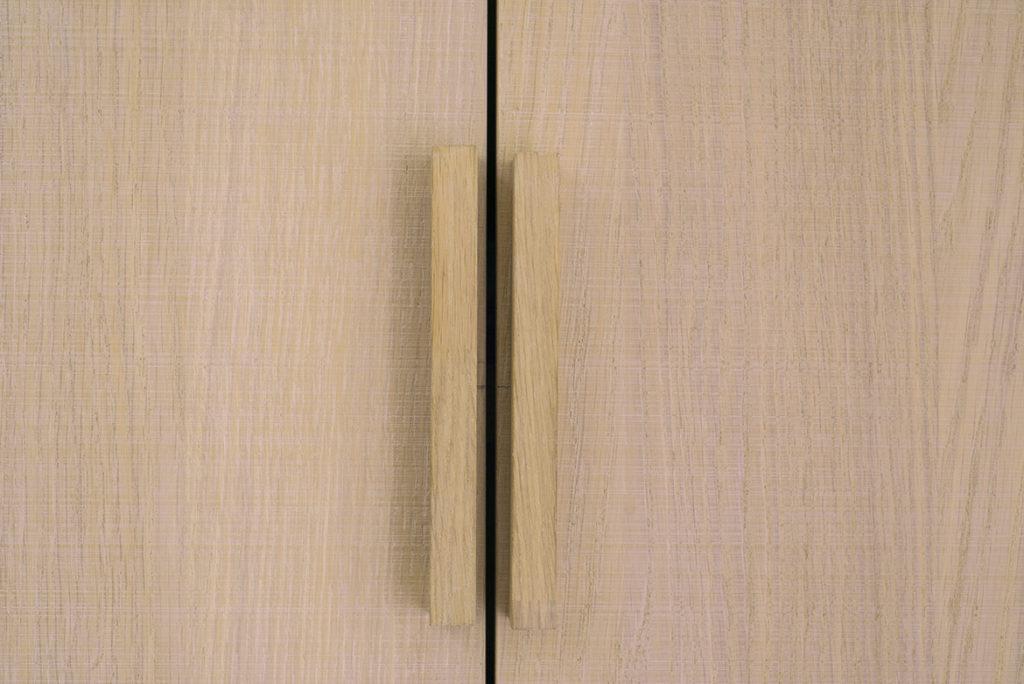 handgreep houten kast op maat