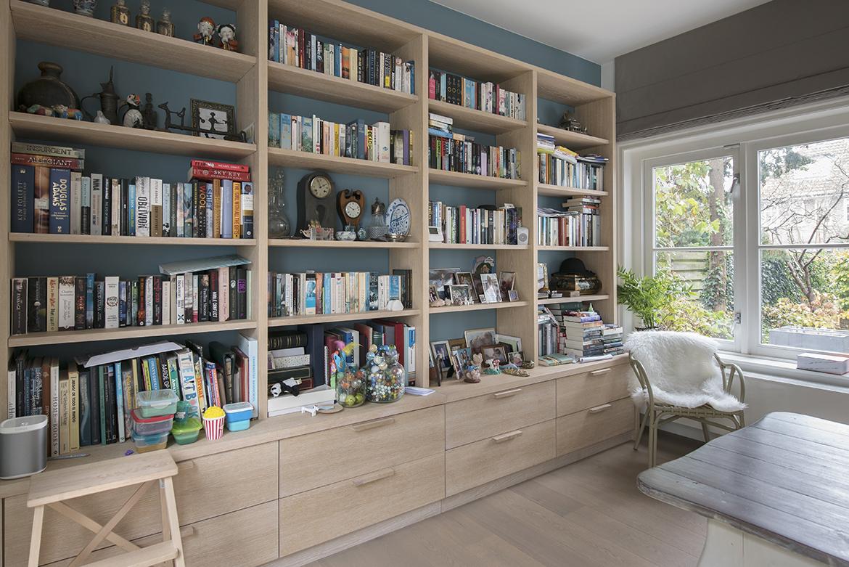 boekenkast op maat gemaakt