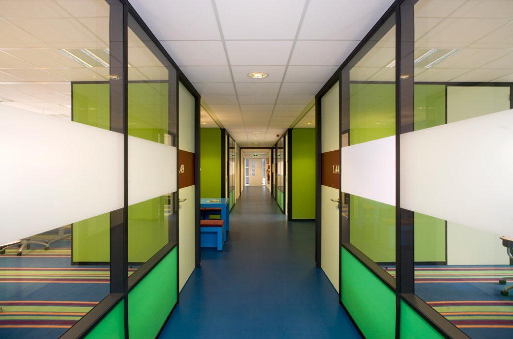 gang, groen, blauw, interieur, interieuradvies, Terstal