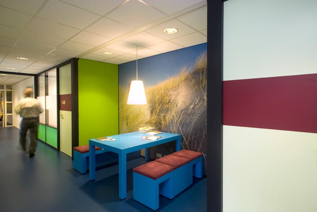 zitje, leesplek, groen, blauw, interieur, interieuradvies, Terstal