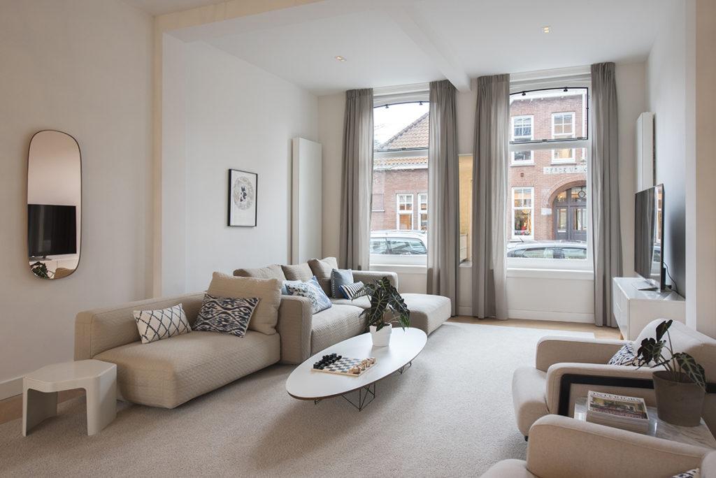 woonkamer, interieuradvies, meubels, plafondindeling, kozijnen